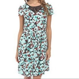 NWT Kensie Minty Combo Floral dress